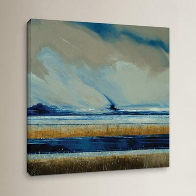 Reeds And Sky I Painting Print on Wrapped Canvas