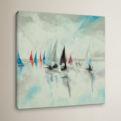 Calm and Serene Painting Print on Wrapped Canvas