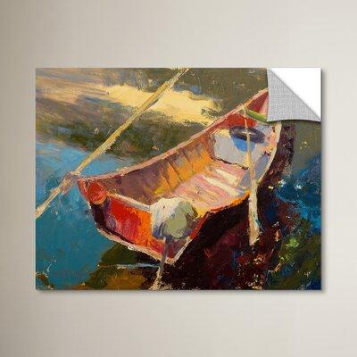 Italian Wayfarer Painting Print