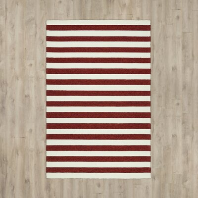 Suffield Red Indoor/Outdoor Area Rug Rug Size: 4 x 6