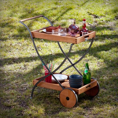 Blanchard Outdoor Bar Serving Cart