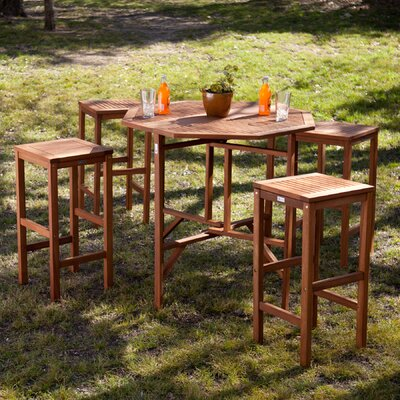 Thurston 5 Piece Outdoor Dining Set