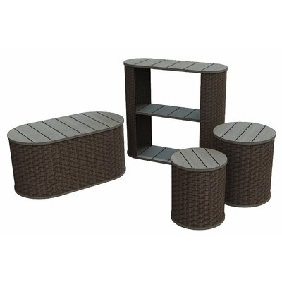 Cambridgeport 2 Piece Side Table Set