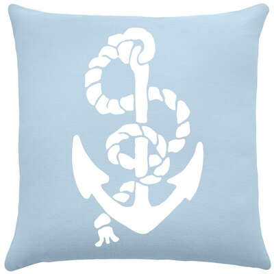 Garysburg Cotton Throw Pillow Color: Placid Blue