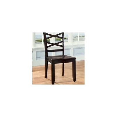 Waynesville Solid Wood Dining Chair Chair Finish: Espresso