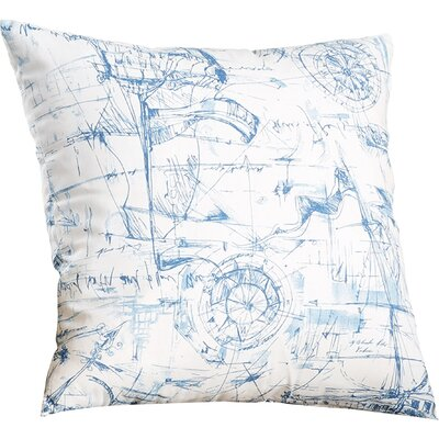 Dreadnaught 100% Cotton Throw Pillow Size: 18x18