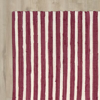 Waterton Red Area Rug Rug Size: Rectangle 2 x 3