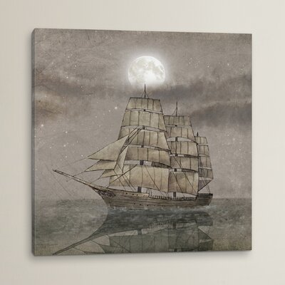 'Night Journey' Original Painting on Wrapped Canvas
