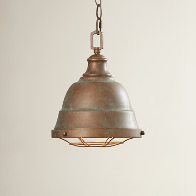 Elinna 2-Light Inverted Pendant Finish: Copper Patina