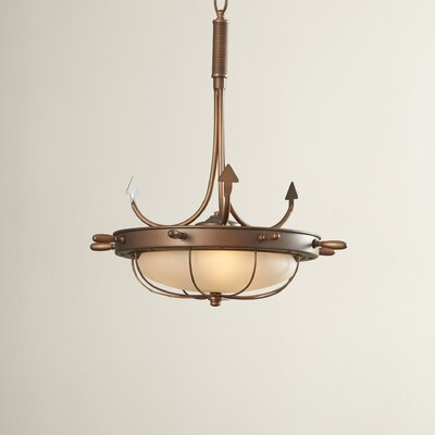 Reliance 3-Light Inverted Pendant