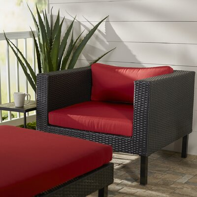 Zoar Patio Chair with Cushion