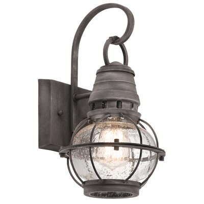 Breakwater Bay Seaport 1 Light Outdoor Wall Lantern