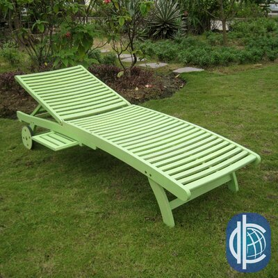 Sandy Point Chaise Lounge Finish: Mint Green