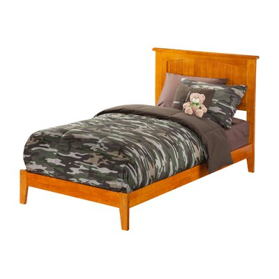 Graham Platform Bed Size: Full, Color: White