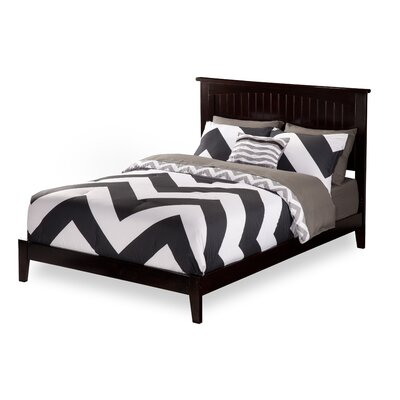 Graham Platform Bed Size: Queen, Color: Espresso