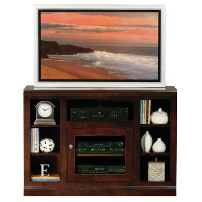 Coconut Creek Traditional 46 TV Stand Door Type: Glass, Color: Caribbean Rum