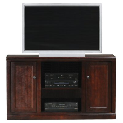 Meredith TV Stand Door Type: Wood, Finish: Interesting Aqua