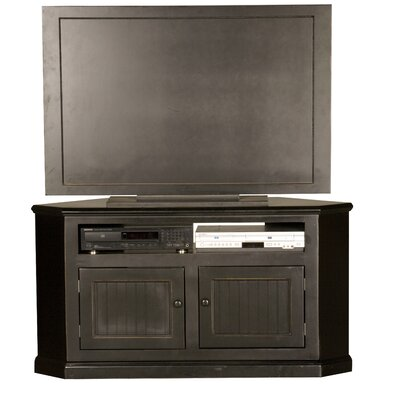 Meredith TV Stand Door Type: Wood, Finish: Burnt Cinnamon