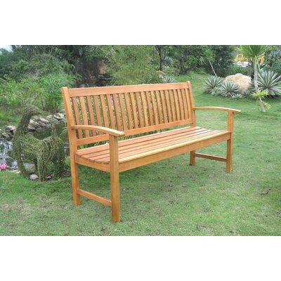 Sabbattus Balau 3-Seat Wood Garden Bench