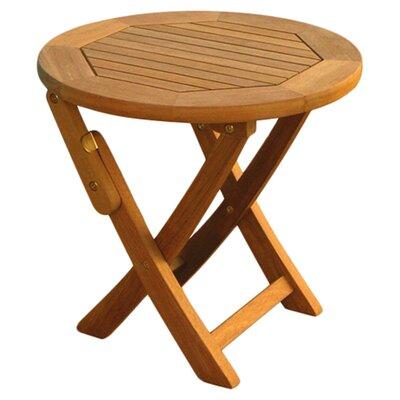 Sabbattus Folding Side Table Table Size: 19 L x 19 W