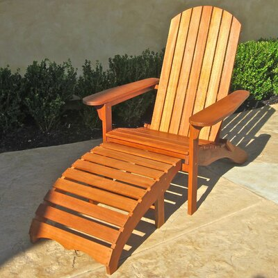 Sabbattus with Footrest Adirondack Chair
