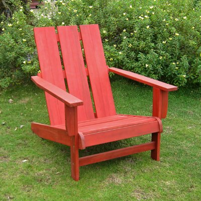 Breakwater Bay Sabbattus Square Back Adirondack Chair