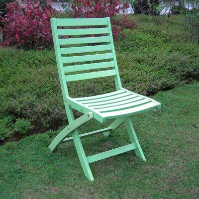 Sabbattus Folding Side Chair Finish: Mint Green