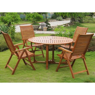 Sabbattus Catalina 5 Piece Dining Set