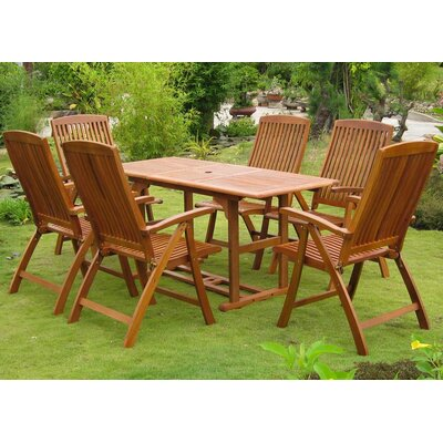 Sabbattus Guissona 7 Piece Dining Set
