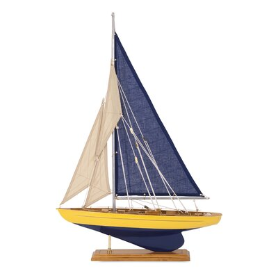 Fairway Decorative Sailboat Figurine