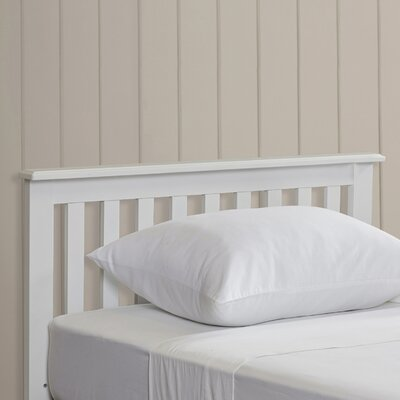 Rosina Wood Twin Slat Headboard by Simmons Casegoods Color: White
