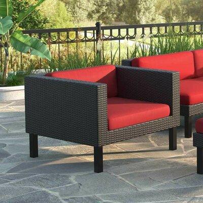 Breakwater Bay Zoar Patio Chair with Cushion