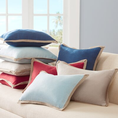 Breakwater Bay Spencer Linen Throw Pillow
