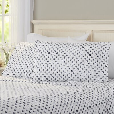 Veronica 200 Thread Count 100% Cotton Sheet Set Size: Twin XL