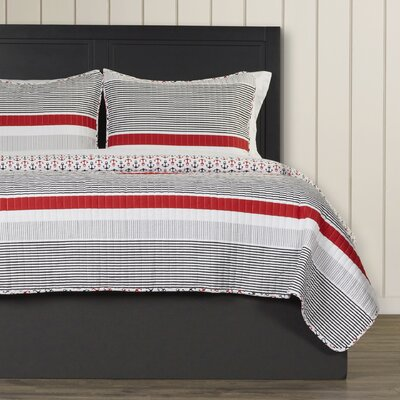 Chani Reversible Quilt Set Size: King