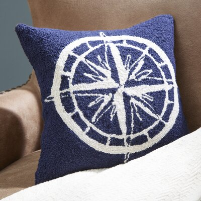 Ingraham Compass Throw Pillow