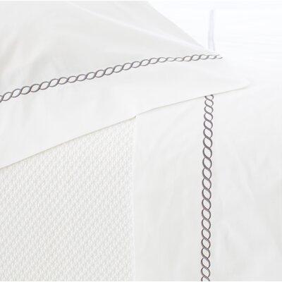 Bilander Pillowcase Size: Standard, Color: Shale