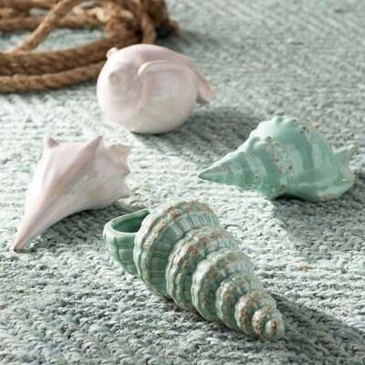 Kentledge 4 Piece Sea Shell Figurine Set