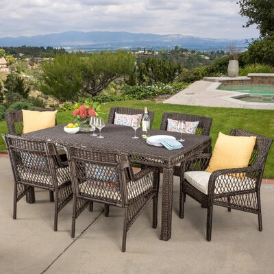 Cragmere 7 Piece Dining Set