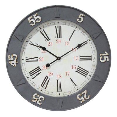 27 24 Hour Wall Clock