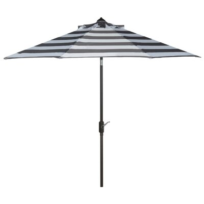 9' Market Umbrella Color: Grey/White