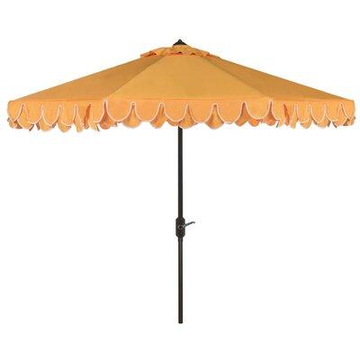 9 Drape Umbrella Fabric: White