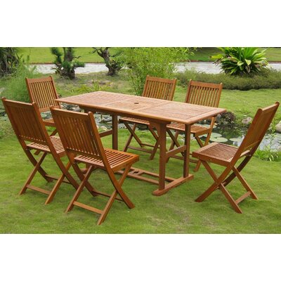 Sabbattus 7 Piece Dining Set