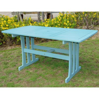 Sabbattus Dining Table Finish: Sky Blue