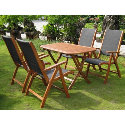 Sabbattus 5 Piece Dining Set