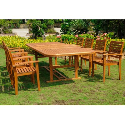 Sabbattus  9 Piece Dining Set