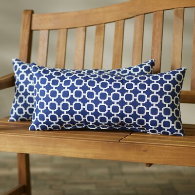 Hallsboro  Indoor/Outdoor Lumbar Pillow Size: 12 H x 24 W x 5 D