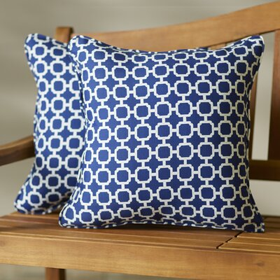 Hallsboro  Indoor/Outdoor Throw Pillow Size: 22 H x 22 W