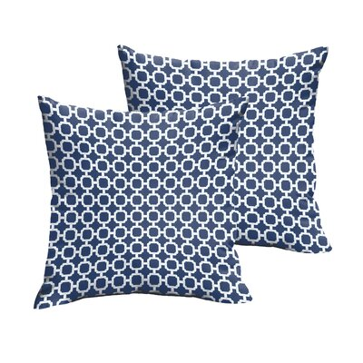 Hallsboro Indoor/Outdoor Throw Pillow Size: 18 H x 18 W
