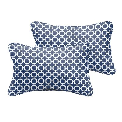 Anabella Indoor/Outdoor Lumbar Pillow Size: 13 H x 20 W x 5 D